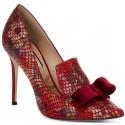 Corinthia Red Leather